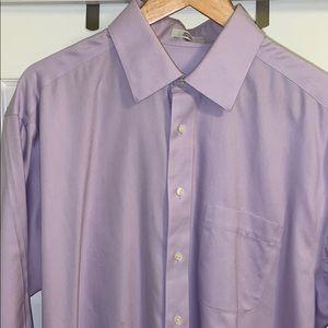 Joseph & Feiss Non-Iron Magenta Dress Shirt